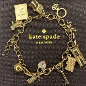 Kate Spade Kiss a Frog Wedding Charm Bracelet